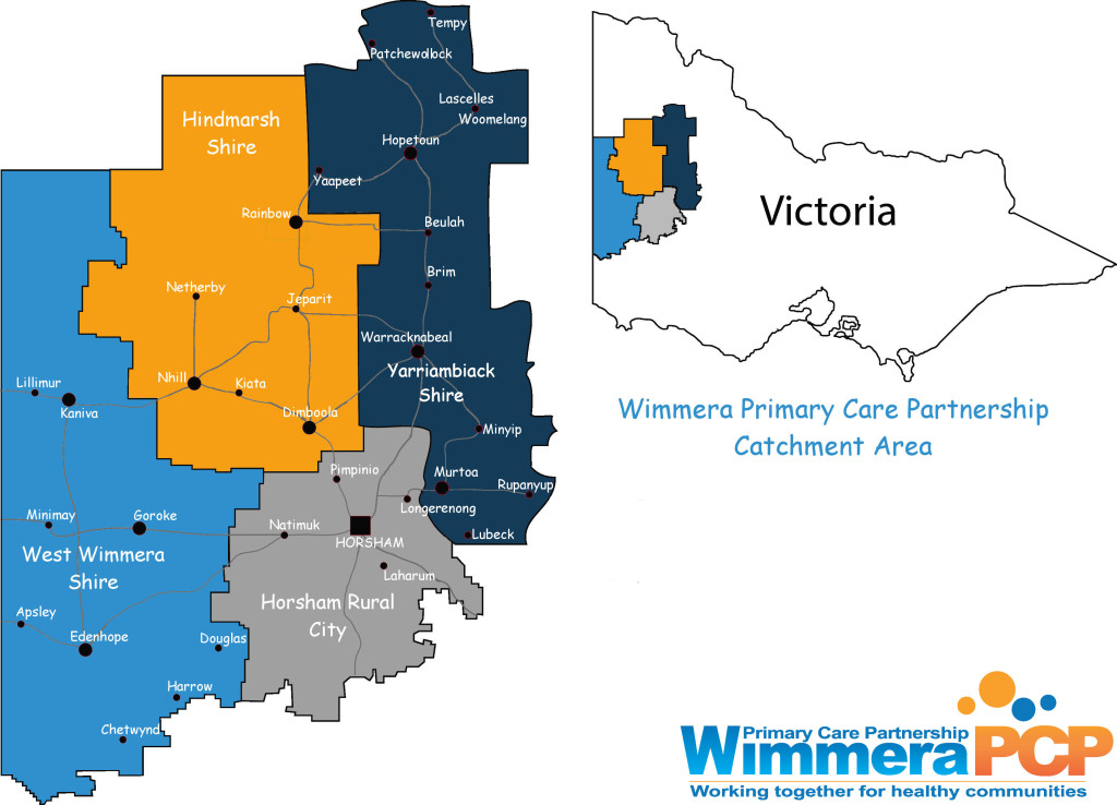 WIMMERA PCP CATCHMENT AREA MAP WITH NEW PCP LOGO